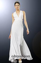 eDressit Taraji P. Henson V-Neck Halter Gown (00100307)