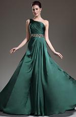 eDressit Nouveautés Manifique Une Bretelle Verte Robe de Soirée (02132104)