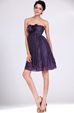 eDressit New Strapless Purple Bridesmaid Dress (07110806)