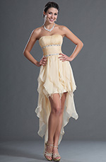 eDressit New Arrival Strapless Mini Cocktail Asymetric Prom Ball Gown (35120314)