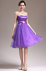 eDressit New Lovely Strapless Sequins Purple Cocktail Dress Party Dress (04135206)
