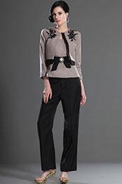 eDressit  Nouveauté Elegant Brun Vêtement professionnel (26127108)