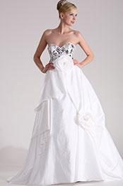 eDressit Elegant weiß Ballkleid (28101807)