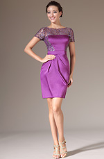 eDressit 2014 New Purple Sequined Lace Top Cocktail Dress (03140412)