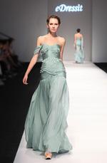 eDressit 2013 S/S Fashion Show Stilvoll Ein Schulter Abendkleid Brautkleid (F00130204)