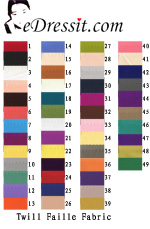 eDressit Twill Faille Fabric (60110102A)