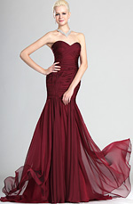 eDressit Celebrity Red Strapless Evening Dress (00124717)