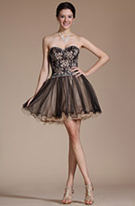 Carlyna 2014 New Sweetheart Neckline Overlace Cocktail Dress/Party Dress (C35141200 (C35141200)