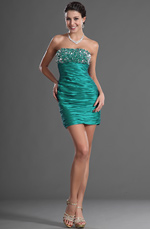 eDressit Strapless Shiny Beadings Cocktail Dress Party Dress (35120204)
