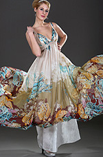 eDressit Halter Floral Evening Dress (00098568)
