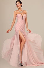 eDressit New Stylish Ruched Bodice Evening Dress (00120501)