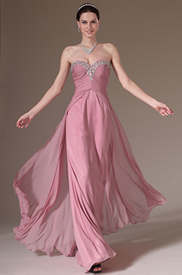 eDressit Beaded Sweetheart Strapless A-Line Prom Dress (00141646)