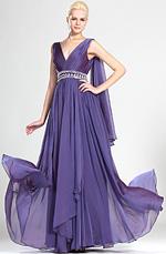eDressit  Sexy V-Ausschnitt Abendkleid (00124406)