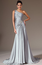 eDressit 2014 New Grey Beaded One-Shoulder A-Line Evening Dress (02141726)