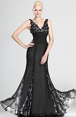 eDressit Sexy Eleganz V-Ausschnitt Abendkleid (00123700)