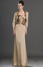 eDressit Sexy Strapless Skirt with Jacket Mother of the Bride Dress (26132124)