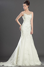 eDressit Gorgeous Sleeveless Wedding Dress (01130307)