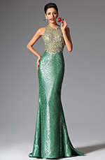 eDressit 2014 New Green Halter Mermaid Evening Dress Prom Ball Gown (02149704)
