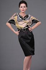 eDressit Popular Estilo Vestido de oficina de moda (26110503)