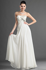 eDressit Charming Strapless Evening Dress Wedding Dress (01121207)