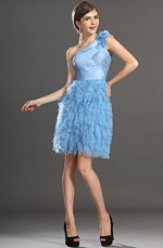 eDressit New Graceful One Shoulder Blue Cocktail Dress Party Dress (04132032)