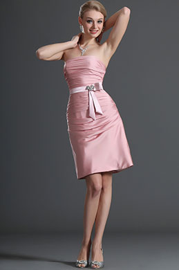 eDressit Strapless Bridesmaid Dress Cocktail Dress Party Dress (07120201)