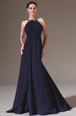 eDressit 2014 Neu Schwarz Blau Bezaubernd Halter Perlen Abendkleid (00142405)