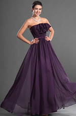 eDressit Grace Strapless Purple Evening Dress (00129706)