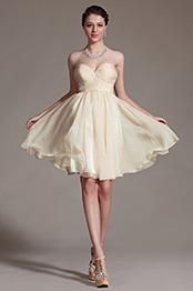 Carlyna 2014 Nouveauté Simple Encolure en Forme de Coeur Robe de Cocktail (C07141014)