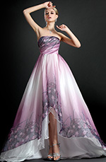 eDressit New Strapless Printed Evening Dress (W00121568)