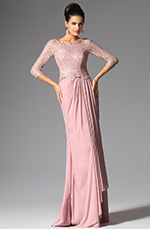 eDressit 2014 New Pink Sleeves Mother of the Bride Dress (26147801)