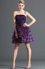 eDressit Sweety Strapless Purple Cocktail Dress Party Dress (04121806)