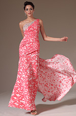 eDressit 2014 New Jacquard One Shoulder Beadings Decoration Evening Gown (02145368)