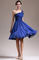 eDressit New Fabulous One Shoulder Blue Cocktail Dress Party Dress (04135005)