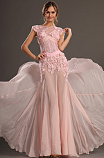 eDressit 2013 S/S Fashion Show Pink Sleeveless Evening Dress Prom Gown (F00132401)