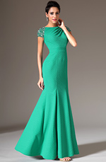 eDressit 2014 New Beaded Cap Sleeves Mermaid Evening Gown (02144211)