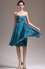 eDressit Nouveautés Sweetheart Bustier Bleu Robe de Cocktail (04135305)