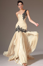 eDressit 2014 New Champagne One-Shoulder Sweetheart Formal Gown(02143214)