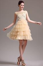 eDressit New Beaded Sleeveless Cocktail Dress Party Dress (04134114)