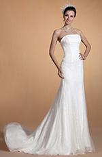 Carlyna 2014 Neu Trägerlos Passend Meerjungfrau Hochzeitskleid  (C37144007)