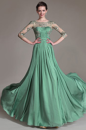 eDressit 2014 New Green Sheer Top Embroidered Mother of the Bride Dress (26147304)