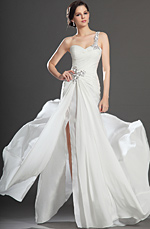 eDressit 2013 New Fabulous  High Split White Evening Dress (00131907)