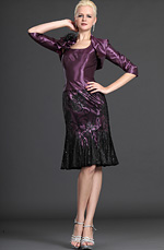 eDressit Elegance Purple Two Pieces Mother of the Bride Dress (26123806)