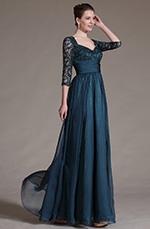 eDressit 2014 New Stylish Overlace Sleeves Mother of the Bride Dress (26146205)