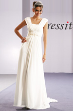 eDressit Elegant White Evening Dress (00092007)