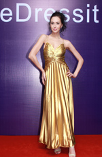 eDressit Deep V-Cut Sexy Luxurious Gold Evening Dress (00778103)