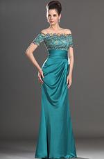 eDressit New Stylish Short Sleeves Beadings Mother of the Bride Dress (26132305)