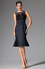 eDressit 2014 New Midnight Blue Bateau Neckline Sleeveless Day Dress Wear to Work (03143905)