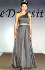 eDressit Amazing Single Shoulder Evening Dress with Sequin Waistband (00094408)