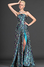eDressit Trägerlos Abendkleid (00125868)